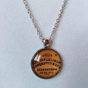 Ouija Board Cabochon Necklace